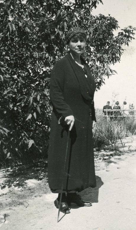 Gräfin Frieda um 1935