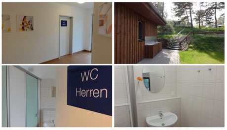 © 2014 neu gebaut: Die Sanitäranlagen für die Schlaf-Fass-Mieter auf www.zweiseen.de
