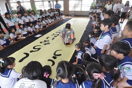 2013/7/2・一宮警察署・剱正幼稚園・七夕
