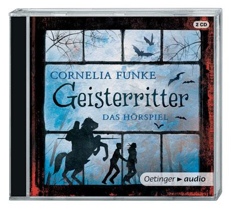 CD-Cover Hörspiel Geisterritter, Cornelia Funke