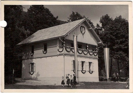 Einweihung Musikheim in Kreutern August 1950