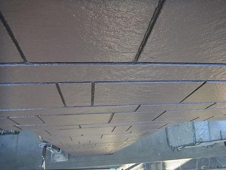 サイディングの目地残し塗装完成。ブラウン2カラースタイル熊本市K様家外壁塗装時。