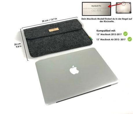 Filz Tasche MacBook