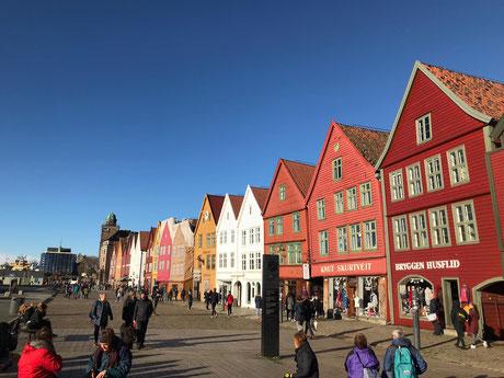 """""""Bryggen"""" in Bergen"""