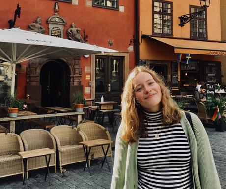 Klara blickt auf ihre Zeit in Schweden zurück