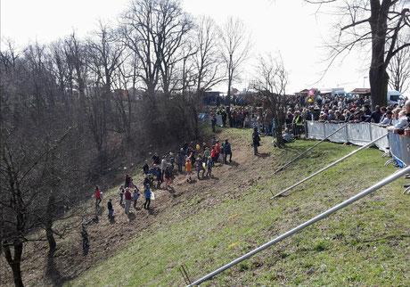 Bautzner Eierschieben auf dem Protschenberg Bild: Susann Wuschko
