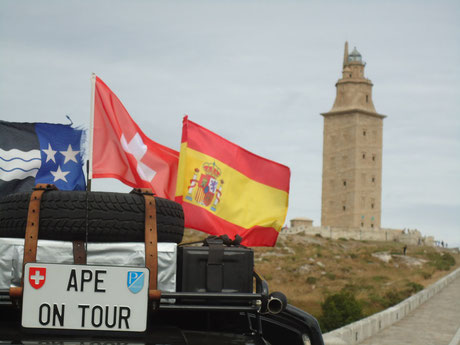 Ape on tour