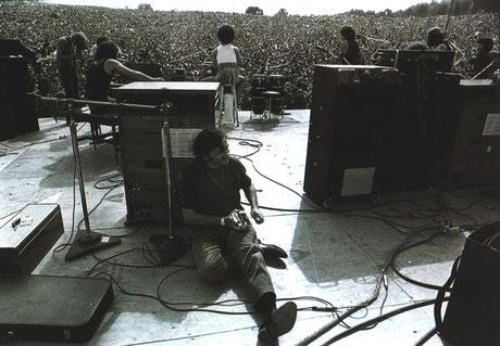 Woodstock im August 1969. 500.000 Besucher. Auftritte von Jimi Hendrix, Janis Joplin und Joe Cockers Urschrei. Drei Tage Frieden, Chaos und Musik. Hier begann der Festivalkult. Foto: Baron Wolman