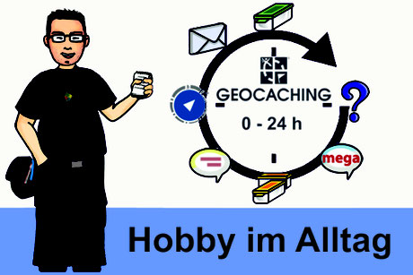 Geocaching Hobby im Alltag