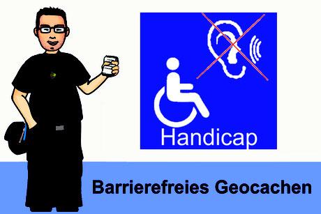 Titelbild Barrierefreies Geocachen