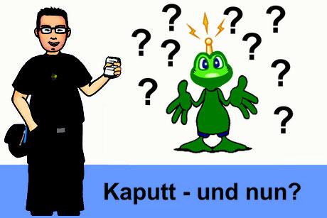 Titelbild: Kaputt - und nun?