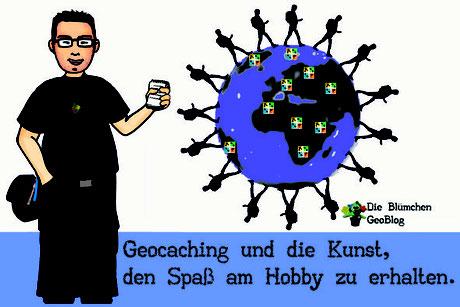 Titelbild Geocaching und die Kunst, den Spaß am Hobby zu erhalten.