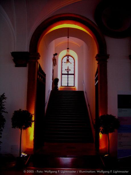 Stadtillumination - Illumination - Rathaus Stadt Augsburg © 2005 - Foto: Wolfgang F. Lightmaster / Illumination: Wolfgang F. Lightmaster