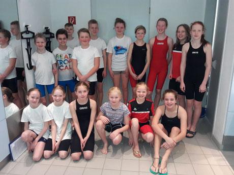 Die Talentis-Gruppe Heepen und das Team Zukunft Brackwede in Enger