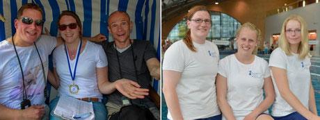 Die erfolgreichen Trainer: Felix Kurzendörfer, Saskia Nieder, Boris Pieper, Kathrin Stockmann, Janina Kistenmacher und Karolin Pult