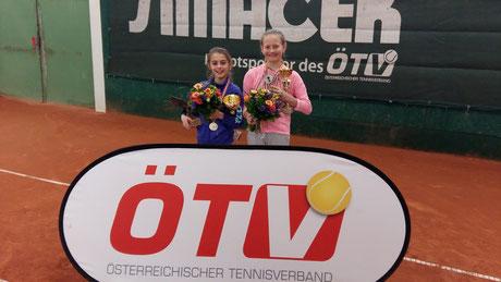 v.l Claudia Gasparovic, Vanessa Huber
