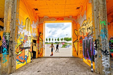 """RheinPark Duisburg - Graffitipark und Skateanalge (7-33432)"""