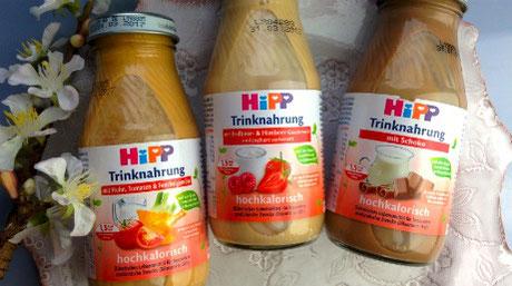 hipp, ernährung, zunehmen, trinknahrung