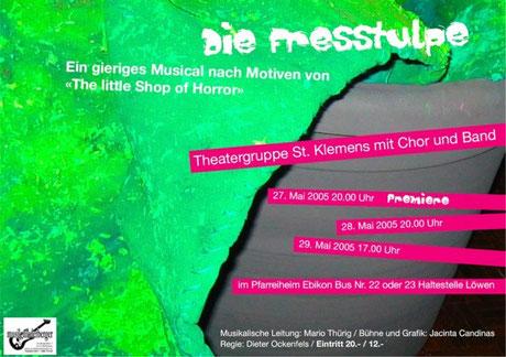 """Klemichor - Musical """"Die Fresstulpe"""""""