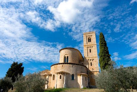 Abtei Sant'Antimo, Bildquelle: pixabay