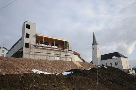Baustelle der FF & TMK  Pöndorf 2015