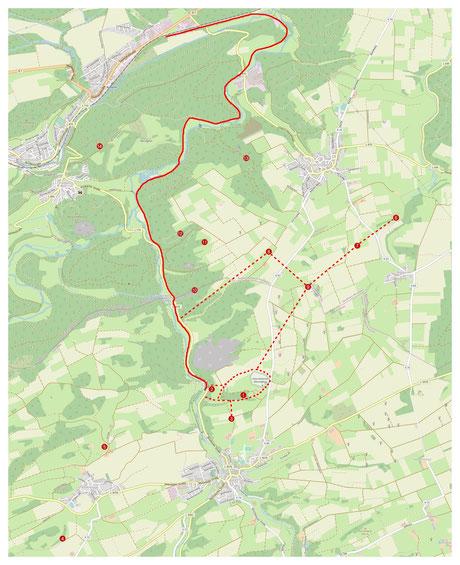 Adorf Diemelsee Bergbau Eisenerz Martenberg Grube Christiane Besucherbergwerk