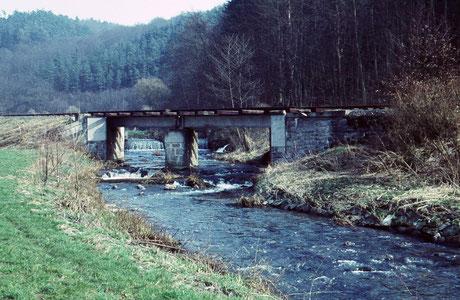Brücke zwischen Hofen und Eschenau