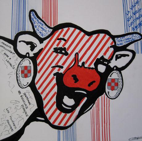 La vache a toujours le sourire