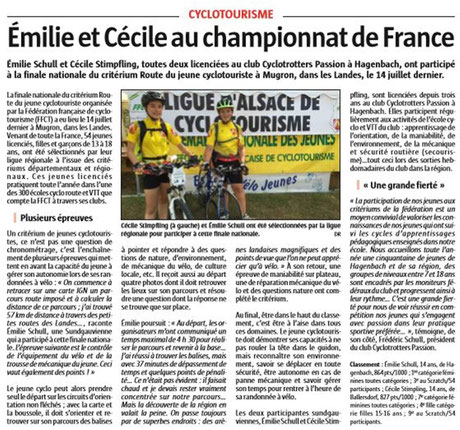 L'Alsace du 08/08/2016