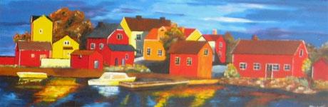 L'Ile suédoise de Sandhamm