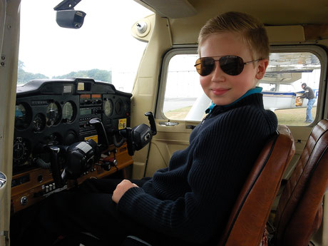 Jeune pilote Hop tour