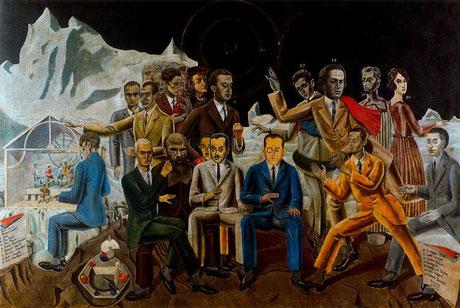 Max Ernst - Au rendez-vous des amis