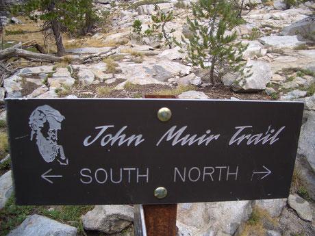 John Muir Trail Trekking