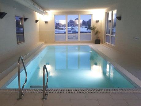 Wellnessbereich mit Schwimmbad