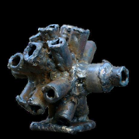 metal art sculpture abstract abstrait David Vanorbeek France