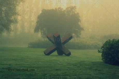 Expo de sculptures dans le parc Ar Milin à Châteaubourg, vanorbeek