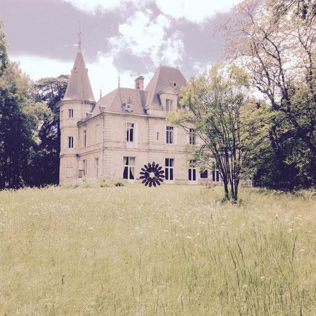 Parc de Sculptures + Arts Textiles au Château de Lagravade à Layrac, Lot-et-Garonne