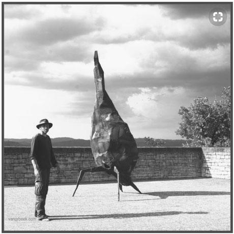 David Vanorbeek, Sculptures Monumentales à Domme (Sarlat)