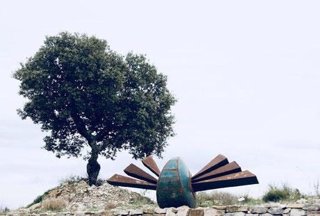 art et nature, sculpture dans la nature, landart, Artist David Vanorbeek