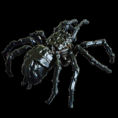 metal art sculpture figurative David Vanorbeek France spider araignée spin tarantula