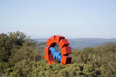 sculpture monumentale de David Vanorbeek
