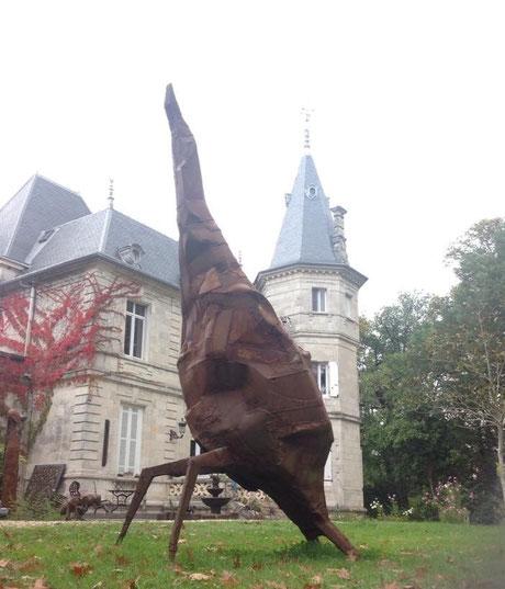 Sculptures Monumentales de David Vanorbeek, artiste en France