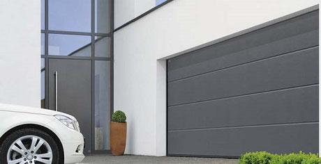 Porte, de garage, d'entrée