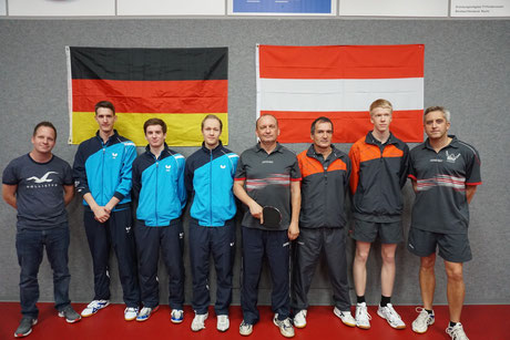 Betreuer Andreas Wibbe, Florian Fechtler, Pascal Polak, Matthias Wibbe, Sandor Hanicz, ,Rainer Sattler und Werner Thury