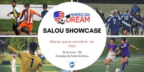 Pruebas de fútbol en Salou para becas de fútbol en EEUU - agentes fifa 314e267e52a10