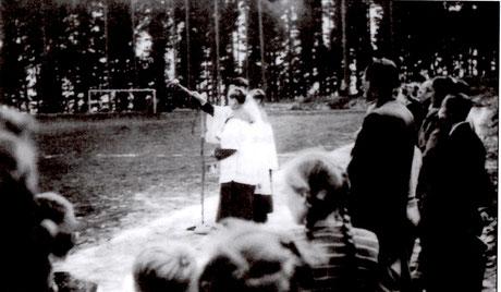 09.09.1953 Einweihung des Sportplatzes am Wormbacher Berg mit Sportpresse