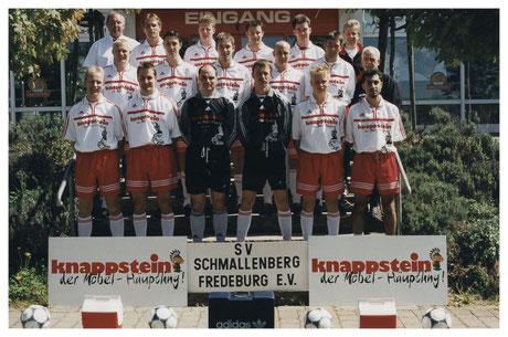 Mannschaftsfoto Saison 1999/00