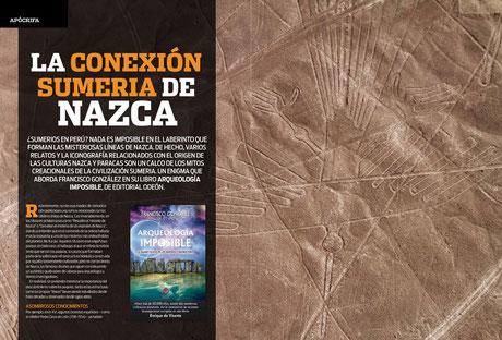 Reportaje sobre Arqueología Imposible en la revista Enigmas