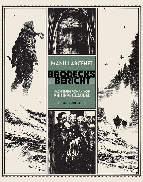 Cover zur Graphic Novel Brodecks Bericht