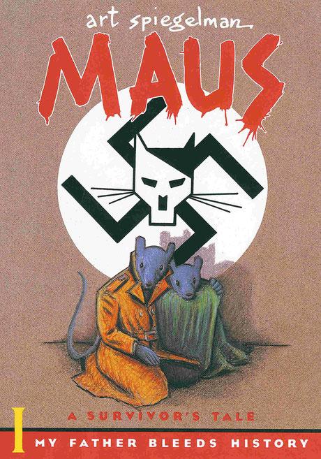 Cover zu Art Spiegelmans Maus